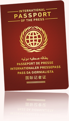 Internationaler Pressepass